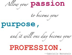 allow your passion